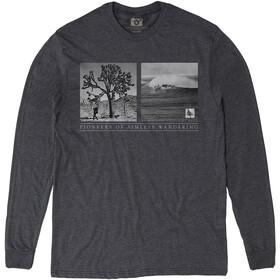 Hippy Tree Wanderer Longsleeve T-shirt Heren, heather charcoal